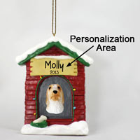 Petit Basset Griffon Vendeen House Ornament (Personalize-It-Yourself)
