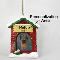 Boxer Tawny House Ornament (Personalize-It-Yourself)
