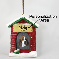 Basset Hound House Ornament (Personalize-It-Yourself)