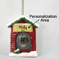 Mastiff House Ornament (Personalize-It-Yourself)