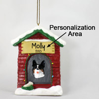 Welsh Corgi Cardigan House Ornament (Personalize-It-Yourself)