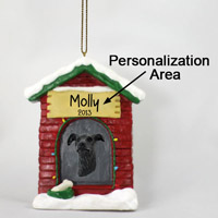 Greyhound Brindle House Ornament (Personalize-It-Yourself)
