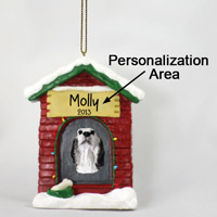 English Setter Belton Blue House Ornament (Personalize-It-Yourself)