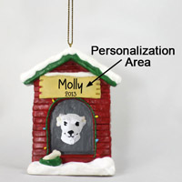 Whippet White House Ornament (Personalize-It-Yourself)