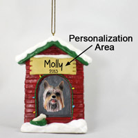 Silky Terrier House Ornament (Personalize-It-Yourself)