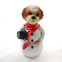Shih Tzu Tan w/Sport Cut  Jolly Holidog