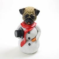 Pug Fawn  Jolly Holidog