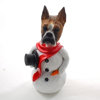 Boxer Brindle  Jolly Holidog