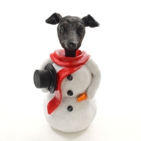 Greyhound Brindle  Jolly Holidog