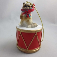 Ragdoll Drum Ornament