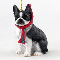 Boston Terrier Original Ornament, Large
