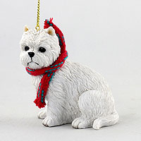 West Highland Terrier Original Ornament, Large