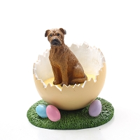 Bullmastiff Easter Egg Figurine