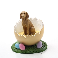 Vizsla Easter Egg Figurine