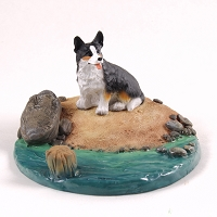 Welsh Corgi Cardigan Everyday Life Beach