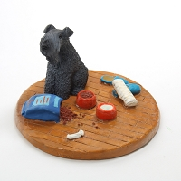 Kerry Blue Terrier Everyday life Home