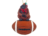 Orangutan Football Ornament