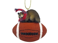 Beaver Football Ornament