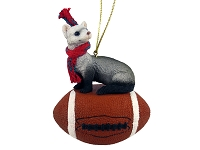 Ferret Football Ornament
