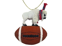 Animal Football Ornaments