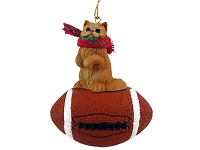 Red Persian Football Ornament