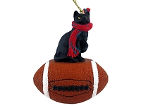 Cat Football Ornaments