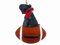 Kerry Blue Terrier Football Ornament