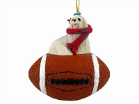 Maltese Football Ornament