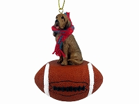 Bloodhound Football Ornament