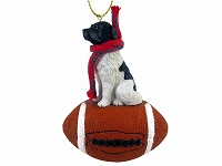Landseer Football Ornament