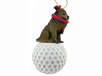 Lion Golf Ornament