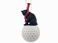 Panther Golf Ornament