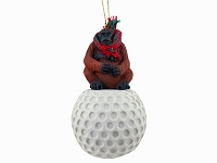 Orangutan Golf Ornament