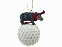 Hippopotamus Golf Ornament