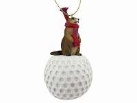 Animal Golf Ornaments