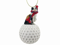 Calico Shorthaired Golf Ornament