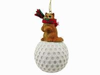 Red Persian Golf Ornament