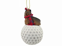 Yorkshire Terrier golf Ornament