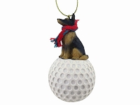 Belgian Tervuren golf Ornament