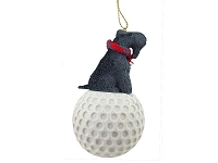 Kerry Blue Terrier golf Ornament
