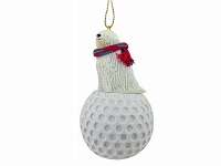 Komondor golf Ornament