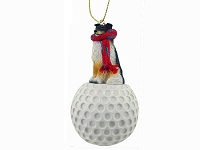 Sheltie Tricolor golf Ornament