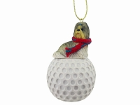 Shih Tzu Mixed golf Ornament