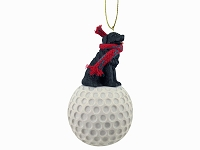 Newfoundland golf Ornament