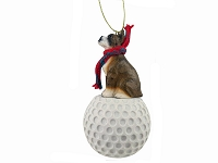 Boxer Brindle golf Ornament