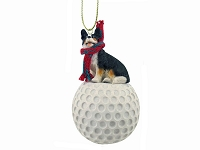 Welsh Corgi Cardigan golf Ornament