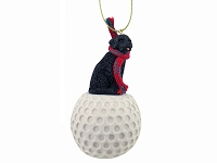 Portuguese Water Dog golf Ornament