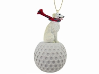 Kuvasz golf Ornament