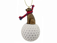 Rhodesian Ridgeback golf Ornament