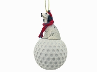 English Setter Belton Blue golf Ornament
